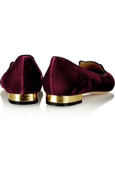 Velvety Feline Loafers
