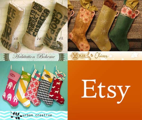 Customizable Christmas Stockings