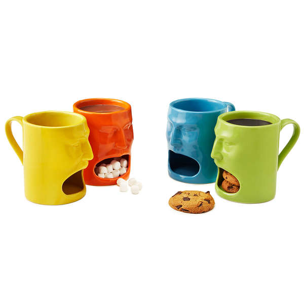 Colorful Face Mugs