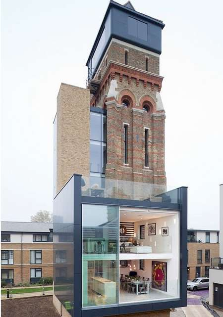 Converted Water Tower Mansions