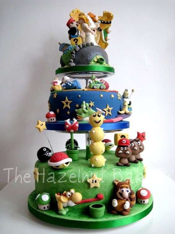 Wedding cakes for the inner nerd