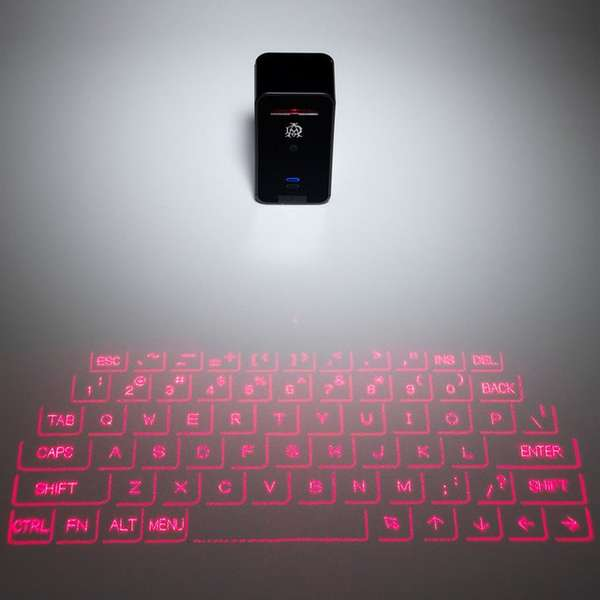 Laser-Projecting Keyboards