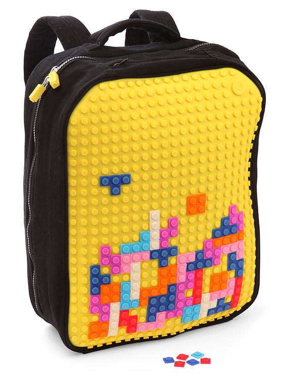 Interactive 8-Bit Backpacks