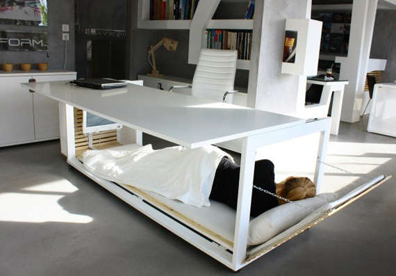 Working Desk Beds
