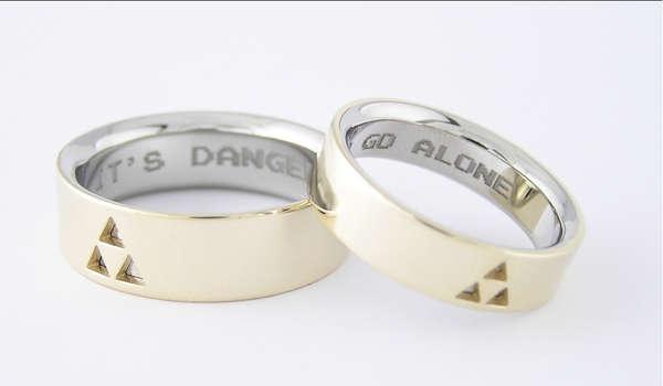 Zelda Themed Rings