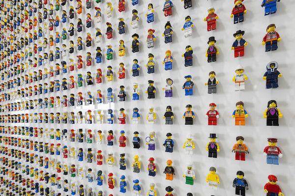 Terrific Toy-Filled Walls