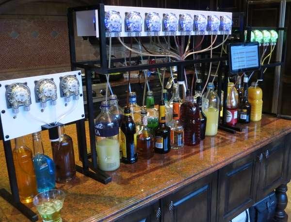 Cocktail-Dispensing Robots