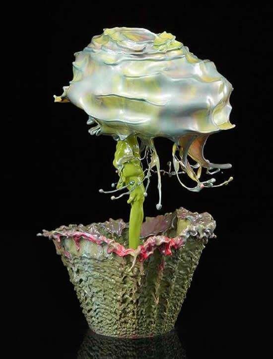 Flower Power Paint Splashes