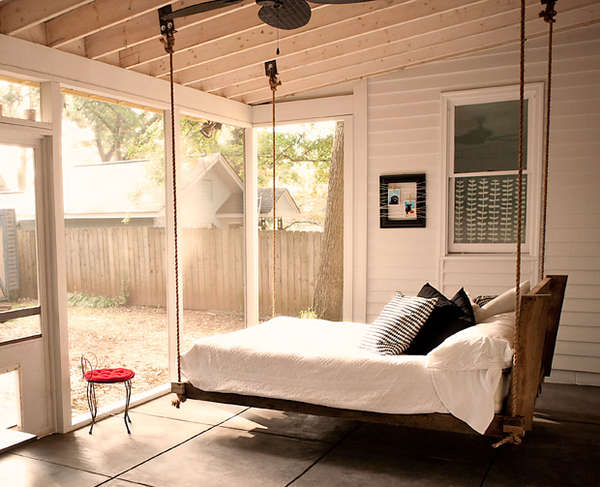Suspended Bed Swings