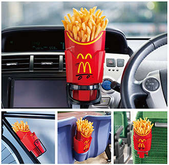 Drive-Thru Snack Holders