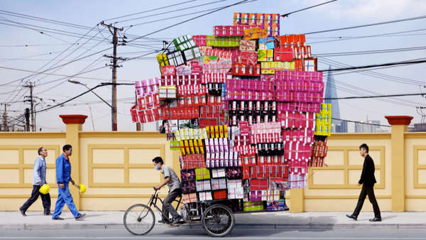 Asian Oversized Load Photography
