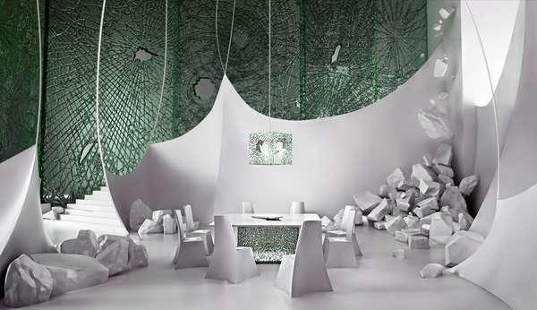 Designing demolition in modern interior