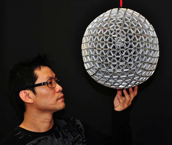 Eco-Inspired Hexagonal Lights