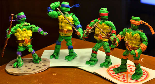 Cartoon Turtle Twist Displays