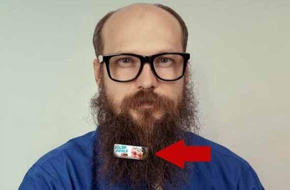 Billboard Beard Burger Ads