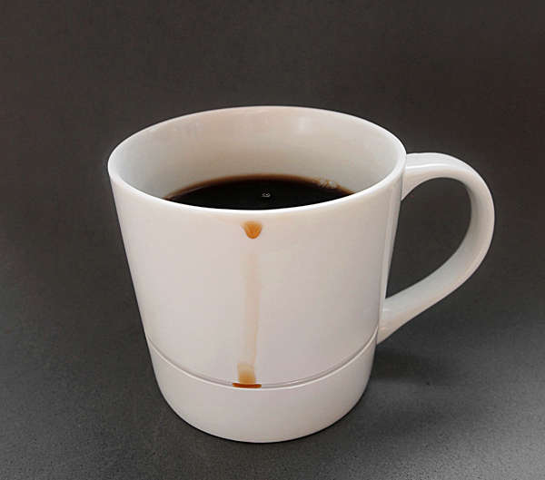 Drip-Free Coffee Mugs