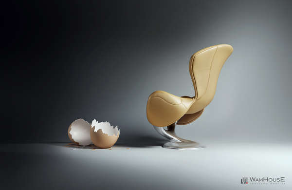 Hatched armchair not to eat