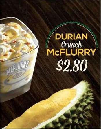 10 Unusual McDonalds McFlurry Flavors