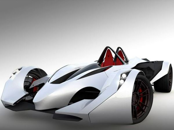 Futuristic Mexican Racing Roadsters