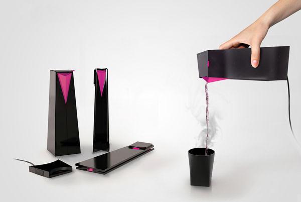 Futuristic Folding Kettle