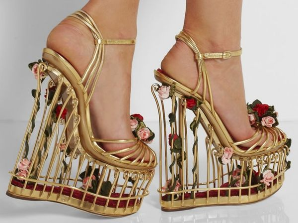 Caged Songbird Shoes