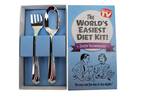 Hilarious Diet Cutlery