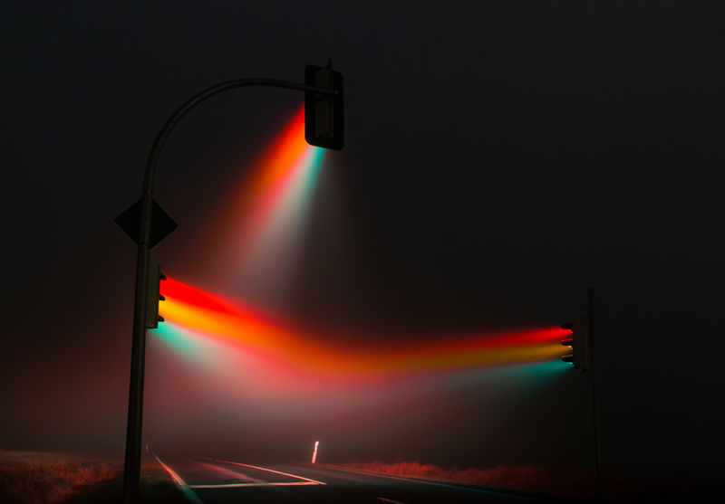 Majestic Traffic Light Captures