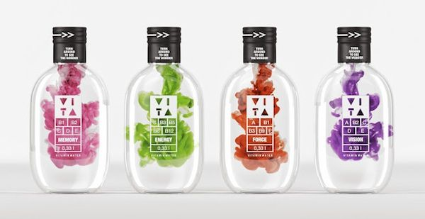 Hue-Exploding Water Packaging