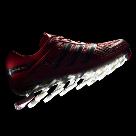 Blade-Enhanced Running Shoes