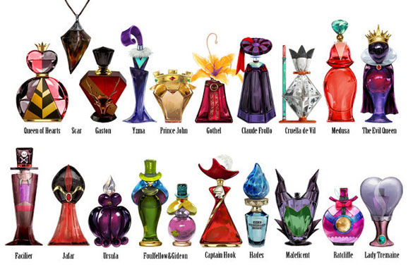 Disney Villain Perfume Collection