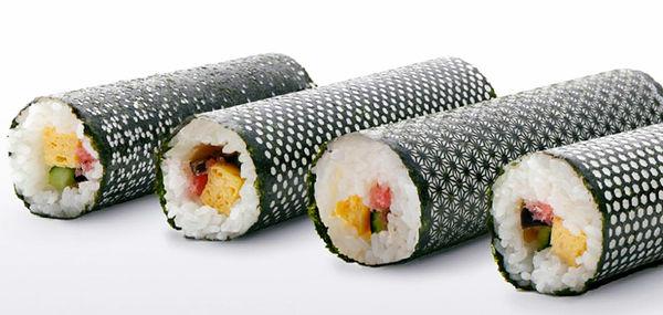 Laser-Cut Sushi