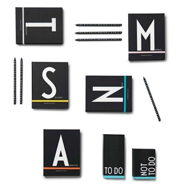 Unique Typographic Stationary Set