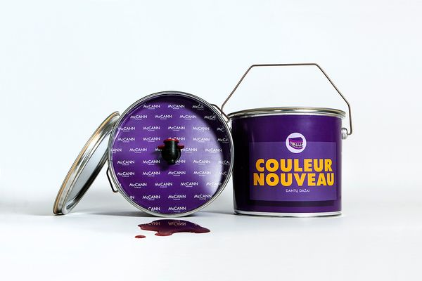 Paint Can Wine Packaging