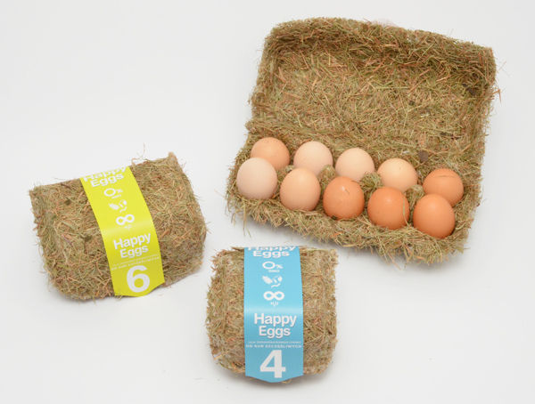 Eco-Friendly Egg Packaging