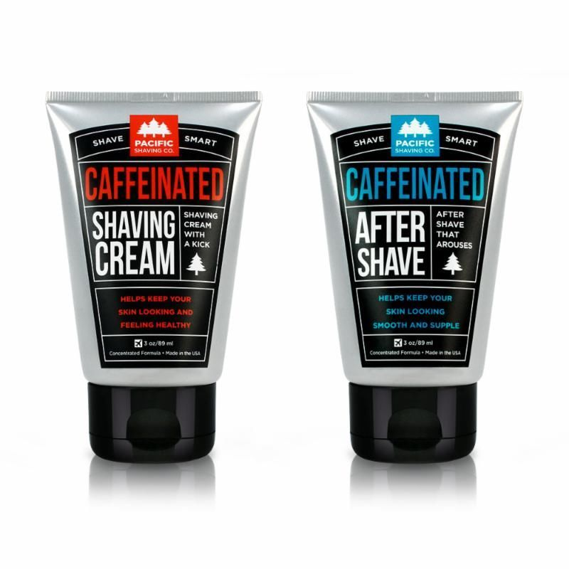 Caffeinated Shaving Products