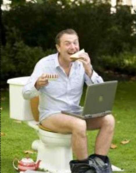 Toilet Multi-Tasking