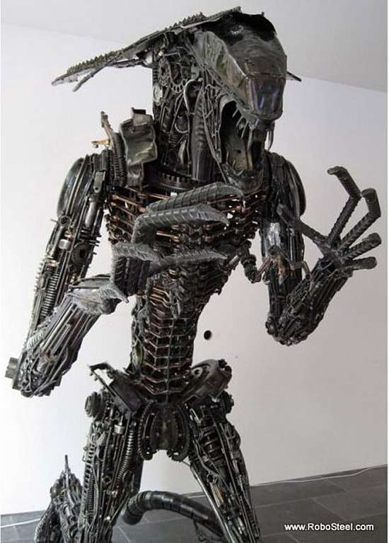 Iconic Sci-Fi Sculptures